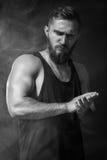 Hombre modelo de Tests For Handsome Fotografía de archivo