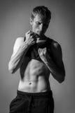 Hombre modelo de Tests For Handsome Imagenes de archivo