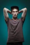 Hombre modelo de Tests For Handsome Fotografía de archivo libre de regalías