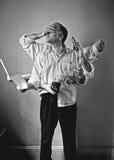 Hombre moderno Foto de archivo libre de regalías