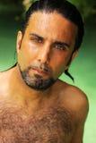 Hombre mojado Imagen de archivo libre de regalías