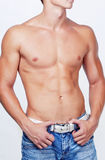 Hombre muscular Fotografía de archivo
