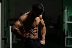 Hombre muscular atractivo Fotografía de archivo