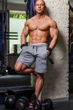 Hombre muscular fuerte Imagen de archivo