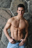 Hombre muscular joven Foto de archivo