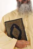 Hombre musulmán, barba larga Imágenes de archivo libres de regalías