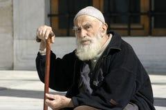 Hombre musulmán mayor Fotos de archivo