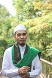 Hombre musulmán sonriente Fotografía de archivo