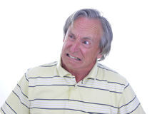 Hombre muy enojado Foto de archivo libre de regalías