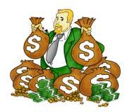 Hombre muy rico libre illustration
