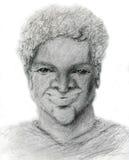 Hombre negro confidente stock de ilustración
