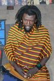 Hombre negro de Rastafarian foto de archivo
