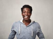 Hombre negro feliz Fotografía de archivo libre de regalías