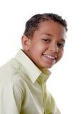 Hombre negro joven sonriente Imagen de archivo libre de regalías