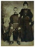 Hombre, niño y esposa. Imágenes de archivo libres de regalías