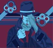 Hombre oscuro libre illustration
