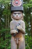 Hombre para el bosque Imagen de archivo
