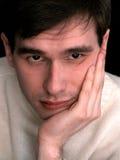 Hombre pensativo 2 Imagen de archivo libre de regalías