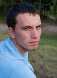 Hombre pensativo joven Foto de archivo libre de regalías