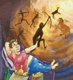 Hombre perezoso gordo Libre Illustration