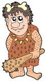 Hombre prehistórico de la historieta Imagen de archivo libre de regalías