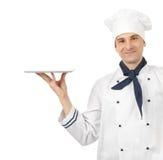 Hombre profesional del cocinero Fotografía de archivo libre de regalías