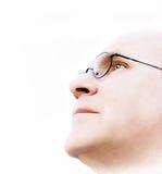 Hombre que busca una visión Fotografía de archivo libre de regalías