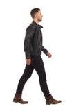 Hombre que camina Fotografía de archivo