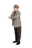 Hombre que espera alguien. Imagen de archivo libre de regalías