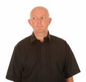 Hombre que mira a la cara Imagenes de archivo