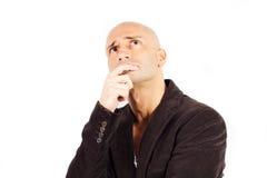 Hombre que piensa Imagen de archivo