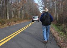 Hombre que viaja Imagen de archivo