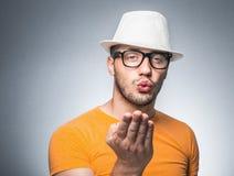 Hombre romántico imagen de archivo libre de regalías