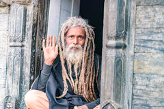 Hombre santo Fotografía de archivo