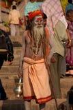 Hombre santo indio Fotografía de archivo libre de regalías