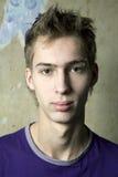 Hombre serio hermoso joven Fotografía de archivo