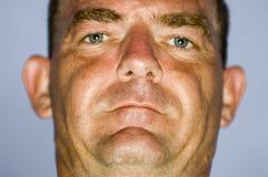 Hombre severo Foto de archivo