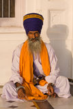 Hombre sikh en Amritsar, la India. Fotos de archivo libres de regalías