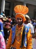 Hombre sikh indio en la preparación tradicional Fotos de archivo libres de regalías