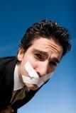 Hombre silencioso Fotos de archivo libres de regalías
