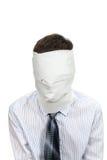 Hombre sin cara Imagen de archivo libre de regalías