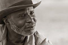 Hombre sin hogar Fotografía de archivo