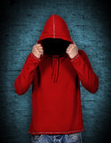 Hombre sin la cara Fotografía de archivo libre de regalías