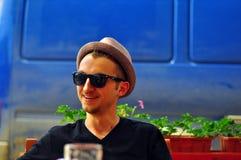 Hombre sonriente Fotografía de archivo