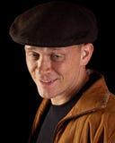 Hombre sonriente deteriorado Fotografía de archivo