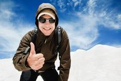 Hombre sonriente joven Imagen de archivo libre de regalías