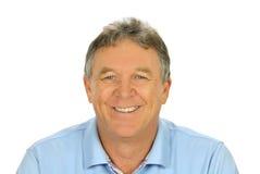 Hombre sonriente ocasional Foto de archivo libre de regalías