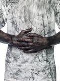Hombre sucio Foto de archivo libre de regalías