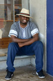 Hombre surafricano feliz Foto de archivo