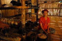 Hombre tailandés de la tribu de la colina Fotografía de archivo